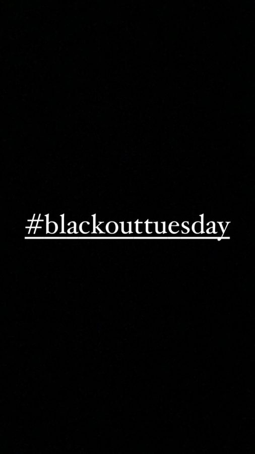 %23blackouttuesday+picture+trending+on+social+media.+