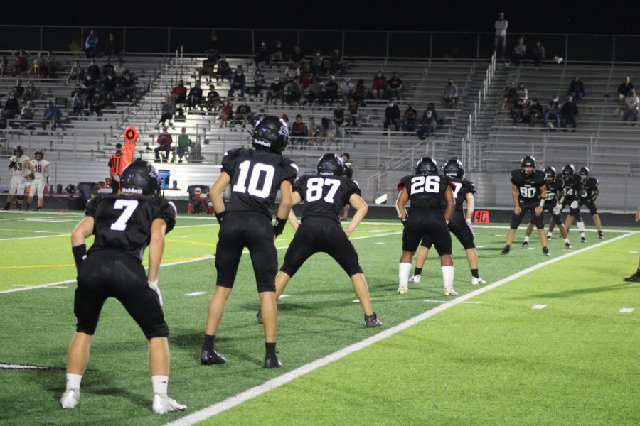 Kick-off with Elkhorn North on offense.