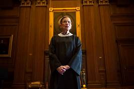 Ginsburg featured standing