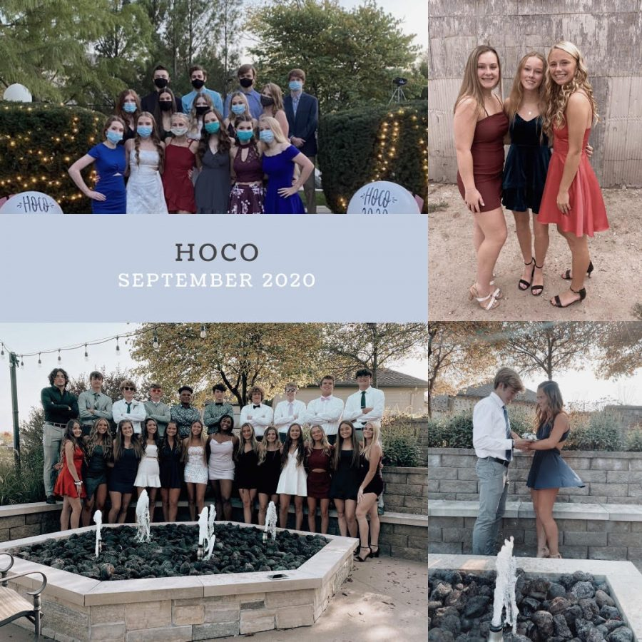 ENHS students homecoming pictures