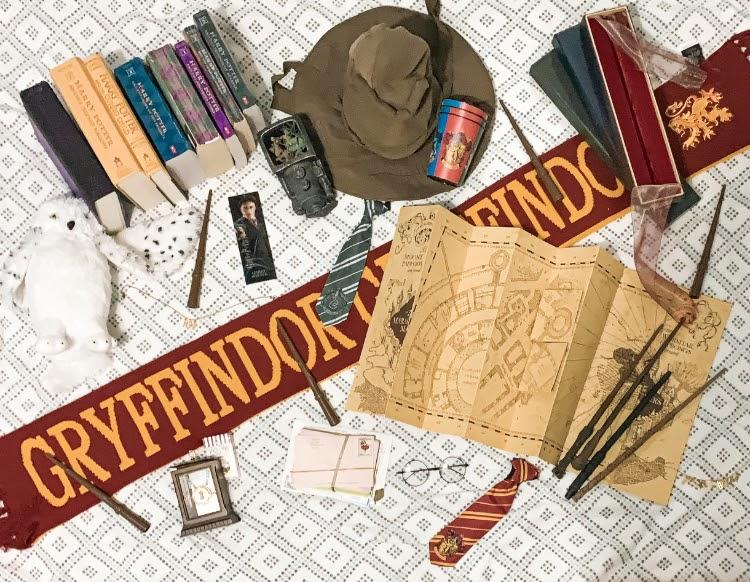 Shanna+Hudgins+Harry+Potter+Collection+%28Photo+Courtesy+of+Hudgins%29.