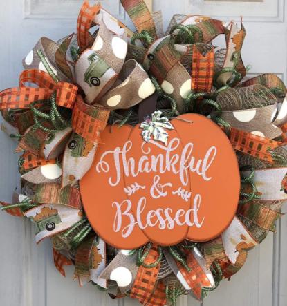 Door piece for thanksgiving.