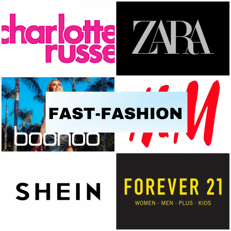 There are many sites that use fast fashion.