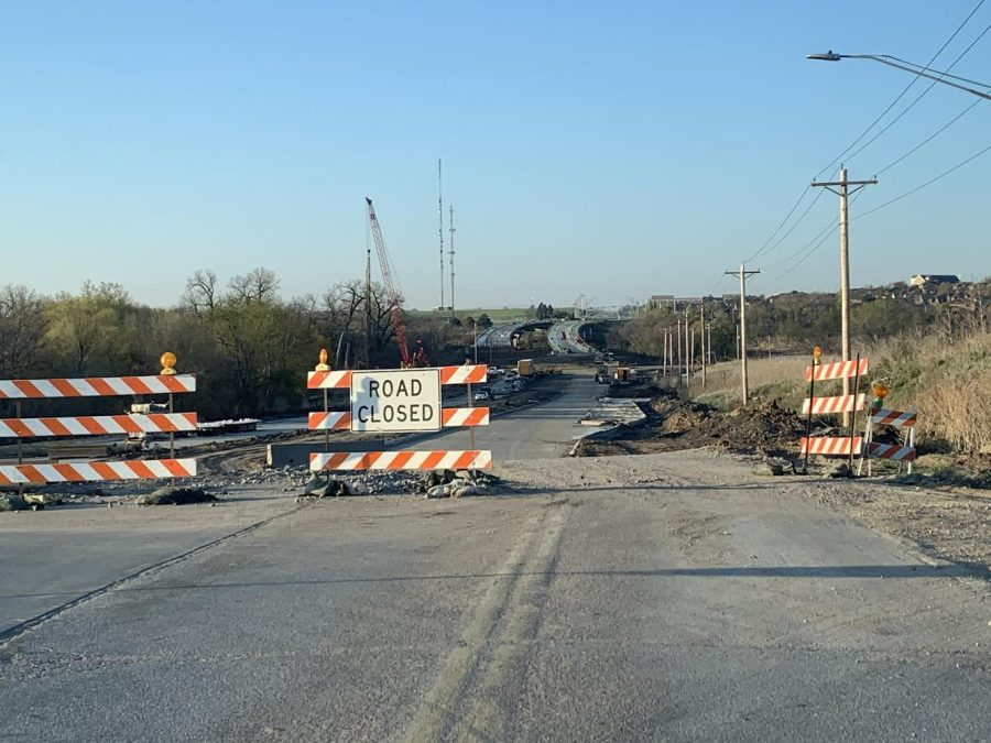 The construction on 180th and Blondo intersection is well underway