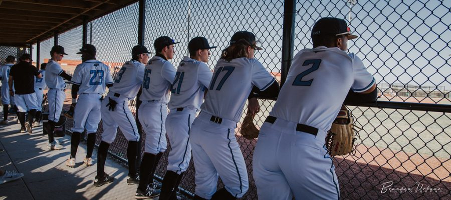 The Wolves watch Lincoln Southeast warm up prior to the game