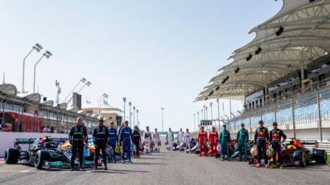 The 2021 Formula One grid. Photo courtesy of Motor Sport Magazine.