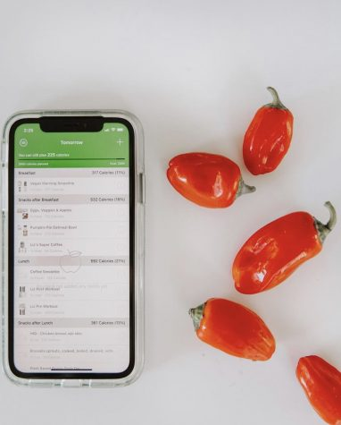The food app used by One Gym members.
