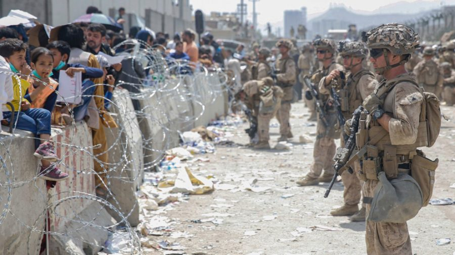U.S faces Afghans  Phtoto by: The Mother Jones.com