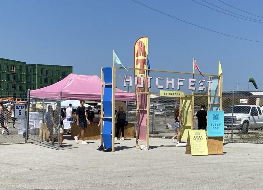 The entrance at Hutchfest in Omaha.