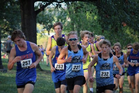 Dylan Palmer and Ben Sullivan leading the pack.