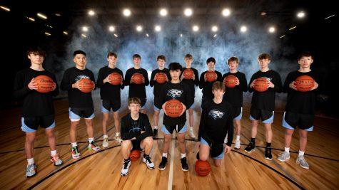 Boys varsity 2020-2021 basketball team