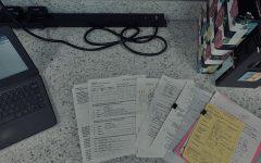The homework load of a junior at Elkhorn North.