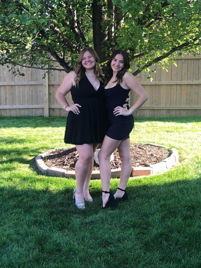 Sisters Shelby and Grace Tanner posing for a picture. Photo courtesy of the Tanner sisters.