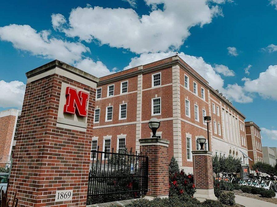 School building at University of Nebraska-Lincoln.